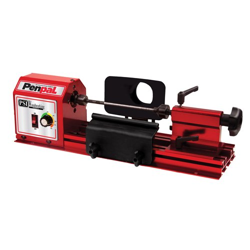 PSI Woodworking PENPAL Portable 15-Pound Mini Penmaking Lathe by PSI Woodworking
