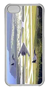 Customized iphone 5C PC Transparent Case - War Airplane 79 Personalized Cover
