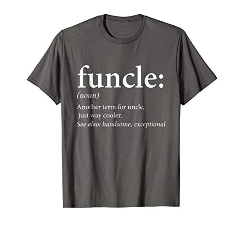 Mens Funcle Shirt - Cool & Funny Uncle T-Shirt