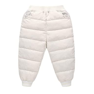 94904478f7b5 Amazon.com  Baby Toddler Boys Girls Padded Pants Kids Fall Winter ...