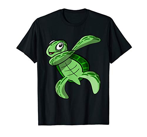 - sea turtle gifts - Dabbing sea turtle T-Shirt