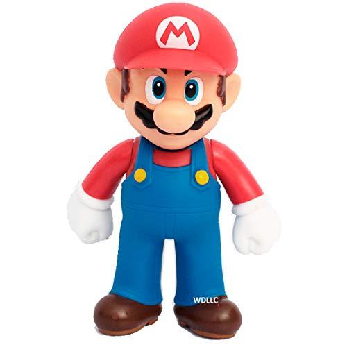 (WAREHOUSEDEALS Super Mario Bros PVC Action Figure Toy 5