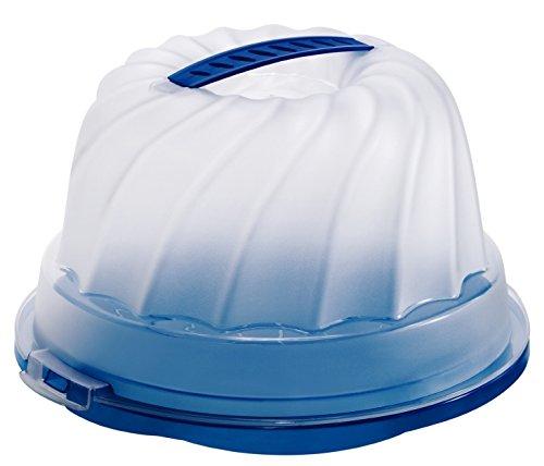 Rotho Gugelhupf Kuchenbehälter night blue