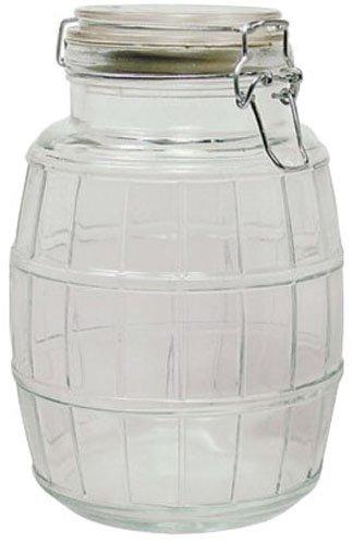 glass barrel jar - 9