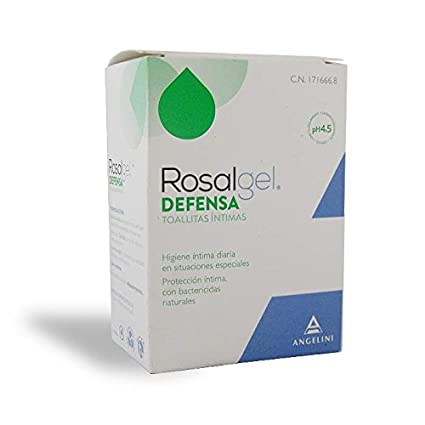 ROSALGEL DEFENSA 10 TOALLITAS INTIMAS