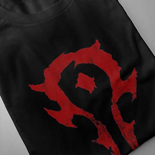 Eilli-Retro-for-The-Horde-Warcraft-Vintage-T-Shirt-Tee