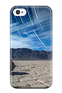 Durable Protector Case Cover With Star Trail Hot Design For Iphone 4/4s