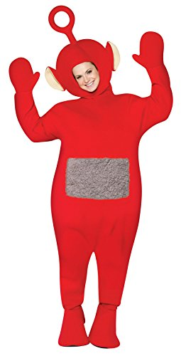 UHC Women's Teletubbies Po Theme Party Fancy Dress Adult Halloween Costume, -