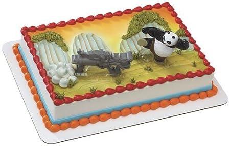 Surprising Kung Fu Panda 2 Kaboom Of Doom Cake Topper Party Supplies Amazon Funny Birthday Cards Online Elaedamsfinfo