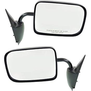 RH Side Textured Black Manual Folding Non-Heated Mirror Fits Ram 2500 CH1321179