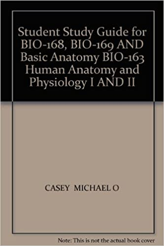 Student Study Guide for BIO-168, BIO-169 AND Basic Anatomy BIO-163 ...