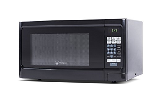 Microwave Oven Compact Countertop Electric Black 1000 Watt 1.1 cu. ft. Cookware by HW