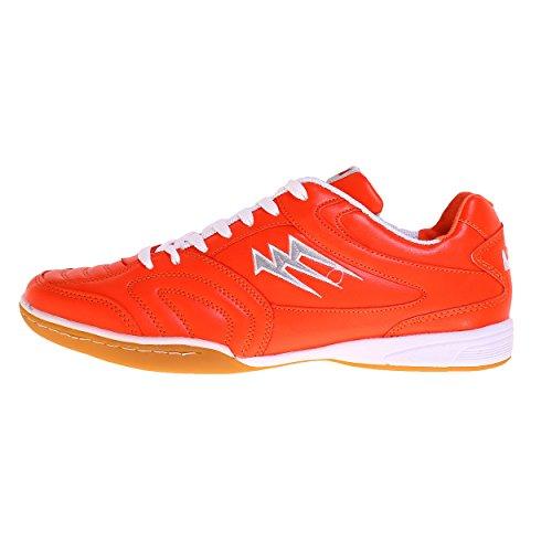 AGLA - Zapatillas de fútbol sala de Material Sintético para hombre naranja Arancione
