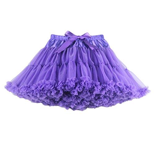 Uni ninos Plisse Jupe 90 Violet buenos Femme DEN StqU1nd1wv