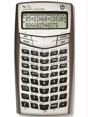 - HP 33S Scientific Calculator (F2216A)