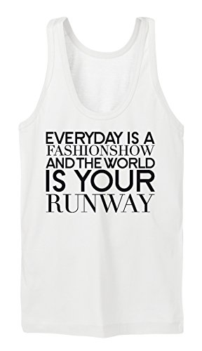 Everyday Is A Fashion Week Tanktop Girls Blanc