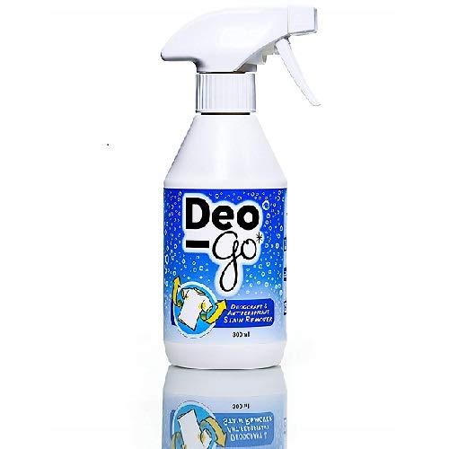 3 x Deo-Go Deodorant & Antiperspirant Stain Remover, Almond 10.14 fl oz (266 ml)