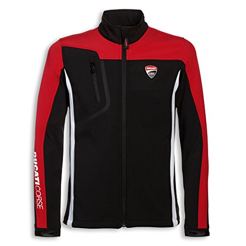 (Ducati Men's Corse Windproof Jacket Small )