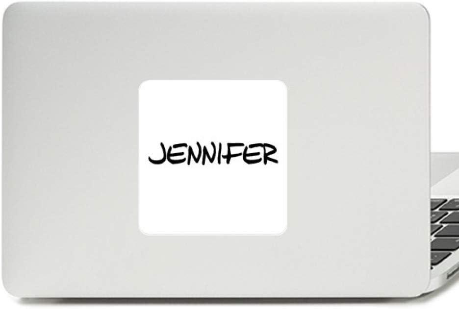 Special Handwriting English Name Jennifer Decal Vinyl Paster Laptop Sticker PC Decoration