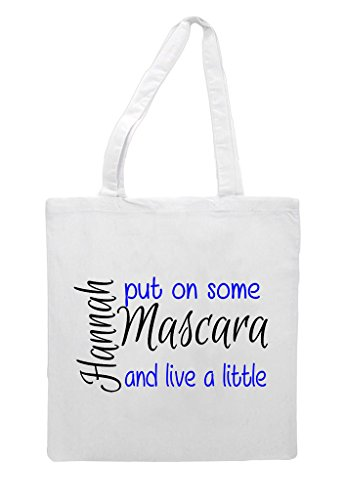 Any Put Some Name Statement Up Tote White Shopper Little Live On Bag Make Mascara Personalised A And wqdHEAw
