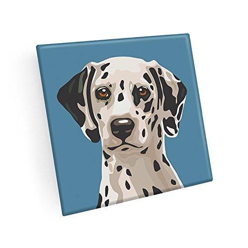 Set of 4 Dalmatian Coasters by Naked Decor