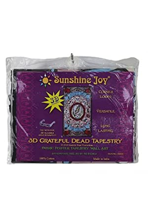 Sunshine Joy 3D Grateful Dead Mini Tapestry Pinball Machine Wall Art 30x45