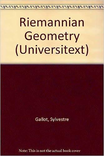 Book Riemannian Geometry (Universitext)