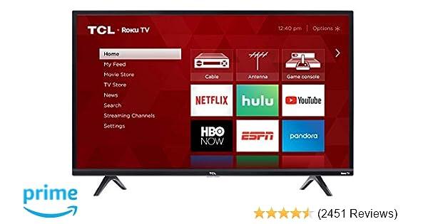 Tcl 40s325 40 Inch 1080p Smart Led Roku Tv 2019