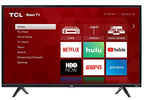 TCL 43S325 43 Inch 1080p Smart LED Roku TV (2019) (Best 42 Inch Hd Tv)