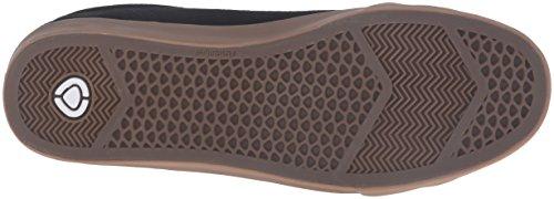 C1RCA Herren AL50R Adrian Lopez Durable Kissen Sole Skate Skateboard Schuh Schwarz / Gum