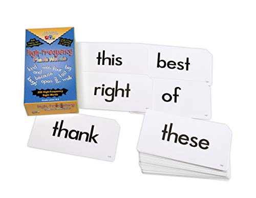 Learning Advantage 8603 High Frequency Flash Words Card