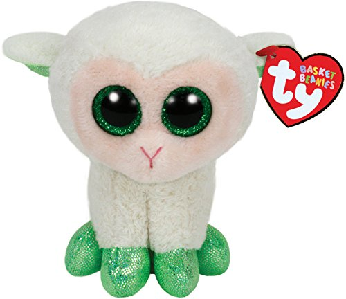 "Ty Basket Beanies 3"" Lala The Lamb"