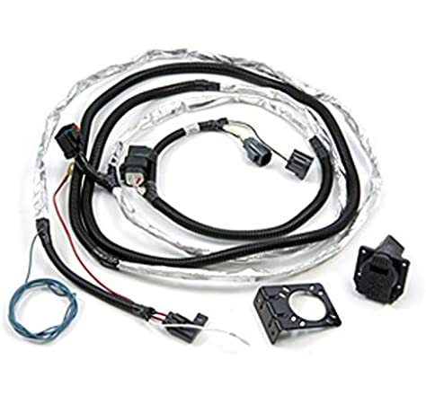 Amazon.com: 2007-2012 Jeep Wrangler Trailer Tow Wiring Harness - Complete  Harness- 7-way: AutomotiveAmazon.com