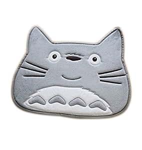 "Cute Cabeza de mi Vecino Totoro coral polar Puerta Suelo Suelo Alfombra Alfombra Alfombra 22* 18"""