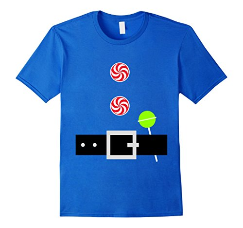 Mens Christmas Halloween Cute Costume Belt Shirt Tween Teenager Medium Royal Blue - Diy Halloween Costumes Teenage Girls
