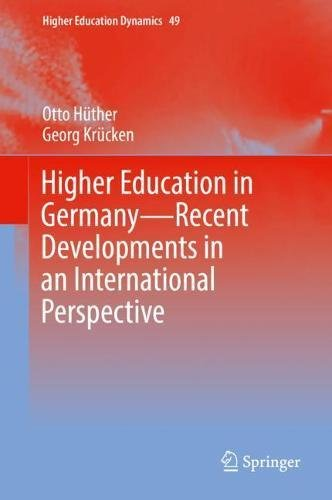 Higher Education in Germany―Recent Developments in an International Perspective (Higher Education Dynamics)
