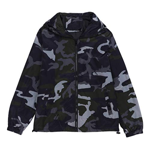 iLXHD Mens Zip-up Camouflage Long Sleeve Pocket Sport Hoodies Jacket Coat(Black,2XL)]()