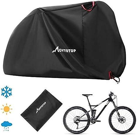 YMYGCC Cubierta de bicicleta Bicicleta cubierta de la bici impermeable cubierta de nieve Lluvia UV protector de polvo protector for Vespa impermeable a prueba de polvo cubierta de la lluvia de bicicle: