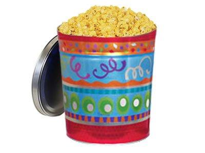 Double Cheddar Cheese Popcorn Tin, 3.5 Gallon Tin ()