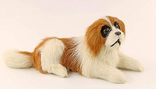 nanguawu St. Bernard Lying Puppy Dog Plush Stuffed Toy Animal from nanguawu