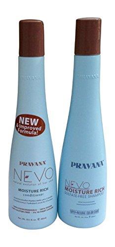 Pravana Nevo Moisture Rich Shampoo 10.1 & Conditioner 10.1 Set - Rich Care Conditioner