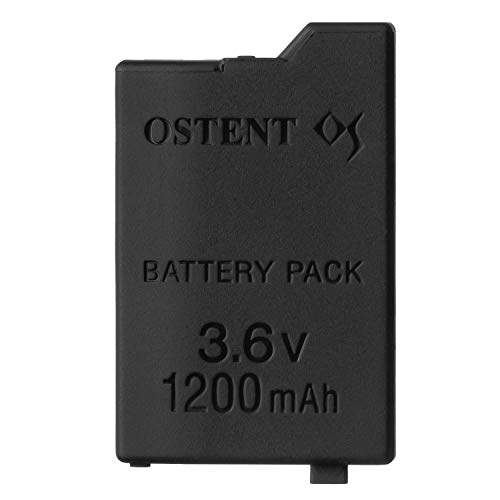- OSTENT 1200mAh 3.6V Lithium Ion Rechargeable Battery Pack Replacement for Sony PSP 2000/3000 PSP-S110 Console