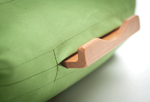 Lap Log Classic - Buckwheat Hull Tablet Pillow - Good for Reading...