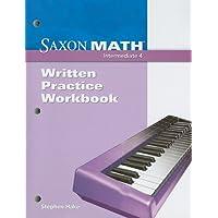 Saxon Math Intermediate 4: Written Practice