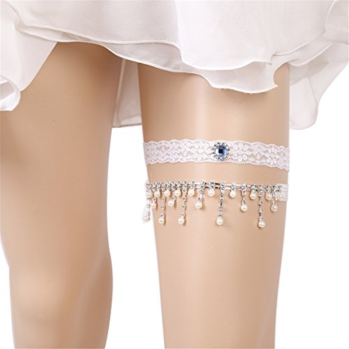 Wedding Lace Garter Set For Bridal And Bridesmaid