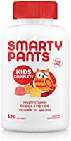 SmartyPants Kids Complete Gummy Vitamins: Multivitamin & Omega 3