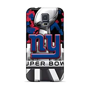 Scratch Resistant Hard Cell-phone Cases For Samsung Galaxy S5 With Custom High-definition New York Giants Skin EricHowe