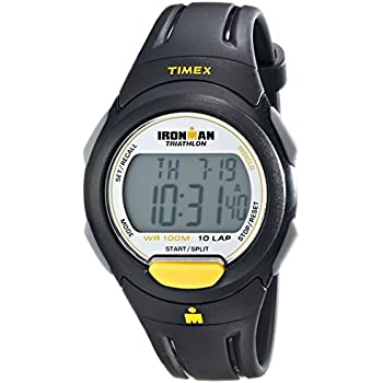 Timex Mens T5K779 Ironman Traditional 10-Lap Full-Size Sport Watch