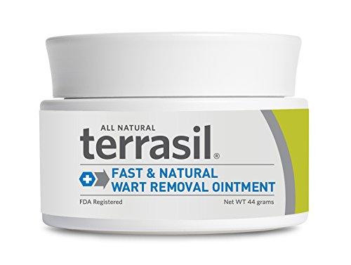 Terrasil Fast & Natural Wart Removal Ointment 44 gram jar - Buy