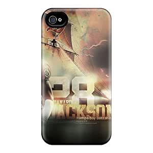 Marycase88 Iphone 4/4s Protective Hard Cell-phone Case Unique Design High Resolution Tampa Bay Buccaneers Pattern [aYD11060pmaq]